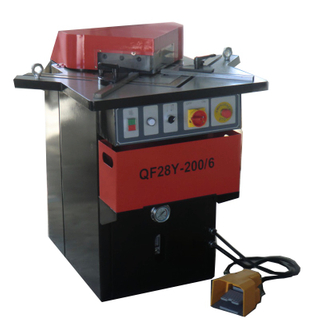 6x200 Corner Cutting Machine for Angle Notching