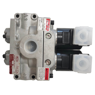Dual Safety Valve for Press Clutch